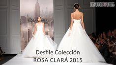 Desfile Rosa Clará Colección Novias 2015 #vestidosdenovia #novias2015 #tendencias2015