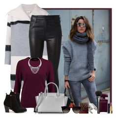 """""""Saturday Vibes"""" by rachel ❤ liked on Polyvore featuring Vince, Citizens of Humanity, N.Peal, Nly Shoes, Michael Kors, Monika Knutsson, Clé de Peau Beauté, Ray-Ban, Chanel and Narciso Rodriguez"""