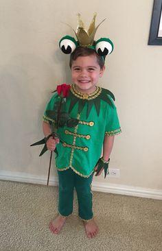 DIY Frog Prince Costume.
