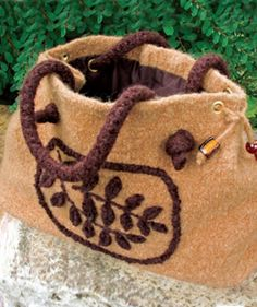 Felted Bag | Knit Rowan