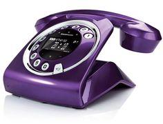 Téléphone sans fil SAGEMCOM Sixty Violet
