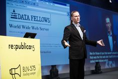 Nice photo of the 1994 Data Fellows website. From re:publica 2015.