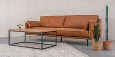 Borgen 3,5 Seter Skinnsofa - Hugna Love Seat, Couch, Furniture, Collection, Design, Home Decor, Settee, Decoration Home, Sofa