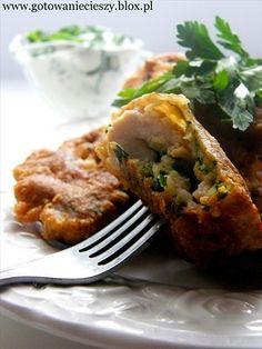 Bardzo szybkie danie na niedzielny obiad. Niezwykle smaczna wersja z kurczaka do którego zbędny jest dodatek w postaci ziemniaków czy frytek (bardzo sycące, Tortellini, Penne, Mini Tacos, Polish Recipes, Meatloaf, Salmon Burgers, Baked Potato, Avocado, Quiche