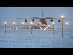 Lądowanie An-124 Rusłan - Lotnisko Lublin [14.02.2013] || http://wojtektylus.com/ladowanie-an-124-ruslan-lotnisko-lublin-wideo/