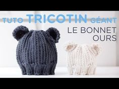 Tuto tricotin : le bonnet jersey bord côtes - YouTube