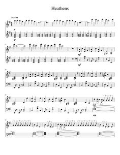 Sheet music made by SamMM4 for Piano