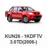 Toyota > Toyota 4x4 Parts > Toyota Hilux Parts > KUN26 - 1KDFTV 3.0TD(2006-)