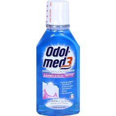ODOL MED 3 Mundspülung Zahnfleisch aktiv:   Packungsinhalt: 100 ml Mundwasser PZN: 06145136 Hersteller: GlaxoSmithKline Consumer…