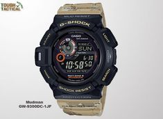 CASIO G-SHOCK Master in Desert Camouflage Madman Radio station solar beige for the world 6 stations - Discovery Japan Mall - Shopping Japanese products from Japan Casio G-shock, Casio Watch, Casio G Shock Mudman, G Shock Watches, Sport Watches, Watches For Men, Wrist Watches, Men's Watches, Nice Watches