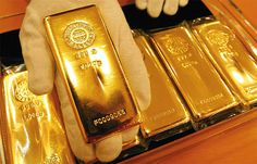 gold bullion. Unmistakeable prudence