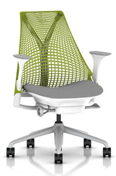 Herman Miller Sayl Chair With A Certified Fire Rating For Domestic Use.