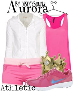 this is my everything.  running outfits orchestrated around disney characters.