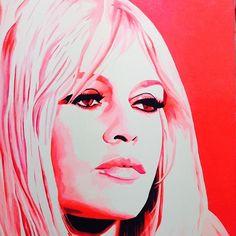 Brigitte Bardot# #BB #Acryl #Leinwandbild #Atelier_fratz #atelierfratz #style #art #München #canvas  #Brigitte_Bardot #Legend #Brigittebardot #bardot #50 #icon #fashion #vintage #oldmovies #oldhollywood #french #retro #beauty #beautiful #Krimhilde #Harro #Hoseus #pink