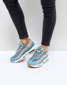 Nike Air Max 95 Lx Trainers In Blue