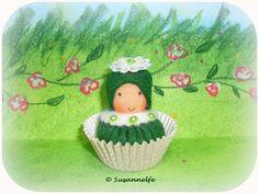 Cupcake, Muffin, Petit Fours, Jahreszeitentisch von Susannelfes Blumenkinder  auf DaWanda.com