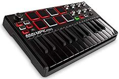 ✅ Financing for your Akai Professional MPK Mini mkII Keyboard Controller Limited Edition Black on Black! Midi Keyboard, Keyboard Piano, Wall Of Sound, Drum Pad, Music Software, Recording Equipment, Usb, Best Computer, Digital Piano