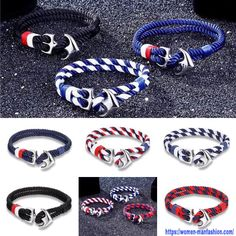 Sea Jewelry, Ml B, Make A Gift, Rope Chain, Bestfriends, Anchor, Nba, Sailing, Survival