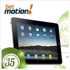 How about winning the latest iPad from Apple by playing bingo? Betmotion.com gives you this chance by entering the Bingo Mania room and buying the amount of cards you wish to play.    You really don't need to buy all the available bingo tickets to win this great prize, it is enough with one of them if you feel like it. If you manage to get Bingo (that is, a full card with all its numbers marked) in the first 35 balls of the game, you'll be the lucky winner of the iPad.