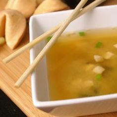 Dashi is a basic stock used in Japanese cooking which is made by boiling dried kelp (seaweed) and dried bonito (fish) Soup Recipes, Great Recipes, Cooking Recipes, Favorite Recipes, Popular Recipes, Tofu, Red Miso, Asian Recipes, Healthy Recipes