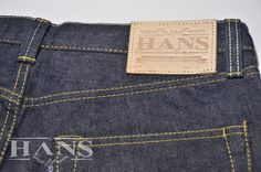Hans jeans leather pacth  brazillian buffalo leather pacth