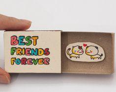 Tarjeta divertida del mejor amigo / amistad divertida tarjeta