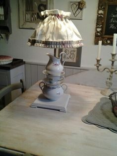 Lampada tea time creazione atelier 57f