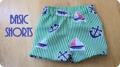 Draft your own pattern for making quick and easy shorts
