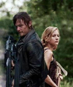 Daryl and Beth. The Walking Dead.