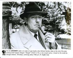 Michael Gambon in 'Maigret' Michael Gambon, Besties, Smoking, Actors, Dinner, Party, Fashion, Dining, Moda