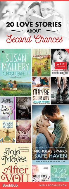 Romantic books to read about second chances and new beginnings. Great books to read and gift for Valentine's Day.