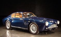 1961 ASTON MARTIN DB4GT ZAGATO....when big name Italian designers do English cars amazing things happen...this 1961 design by Zagato (who has done a few Aston's since) is very beautiful...all the more so for the color contrast between exterior and interior....
