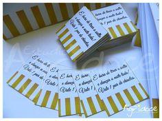 - Se você vai presentear suas convidadas com um par de chinelinhos na sua festa de casamento, este Vale-conforto é muito útil...é só serem entregues na entrada da festa. <br>- Impresso no papel de linho branco, 180g. <br>- Contém: 1 Vale-conforto. <br>- Consulte-nos para outras cores.