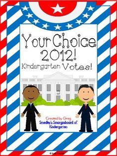 Your Choice:  Kindergarten Votes 2012  $