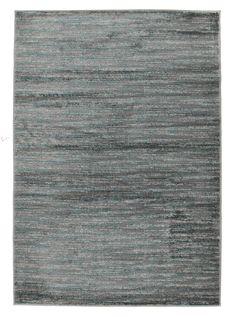 Pandora Contemporary Stripe Rug Blue Grey  - Rug Emporium - 1