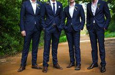 Navy suits for the guys www.harleysvillebridal.com