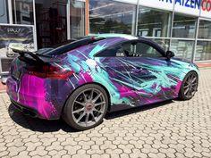 Audi TTS artcar