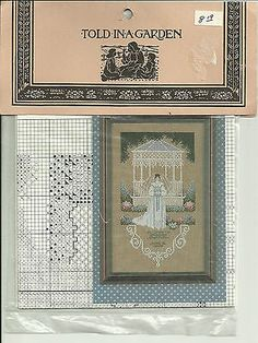 "Wedding Cross Stitch Pattern ""Victorian Bride"" NIP"