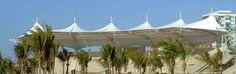 Membrane Structure, Tensile Structures, South Africa, Patio, Architecture, Outdoor Decor, Arquitetura, Architecture Design, Terrace
