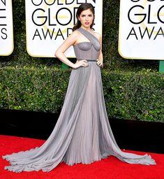 Anna Kendrick Dress: Vionnet 74th Golden Globe Awards, Golden Globes After Party, Celebrity Outfits, Celebrity Style, Strapless Dress Formal, Formal Dresses, Anna Kendrick, Red Carpet Looks, Red Carpet Dresses