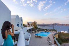 Sigal Villa Akrotiri Featuring an outdoor pool with sun-lounger terrace, the Sigal Villa offers spacious, two-storey apartments with private terraces overlooking the famous Santorini Caldera, the volcano and the pool.