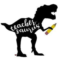 Image result for teacher saurus rex clipart