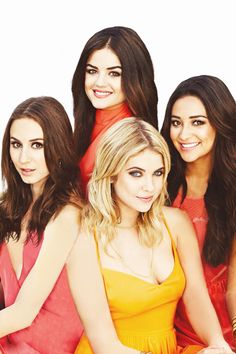 #PLL cast (Troian Bellisario, Lucy Hale, Ashley Benson and Shay Mitchell) |via fb