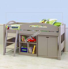 Lowline Loft Bed Suite (Doors) - 91cm :
