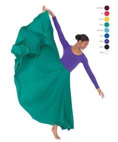 b026568ae338 Eurotard 13674 Adult Triple Panel Praise Skirt Worship Dance, Praise Dance,  Dance Skirts,
