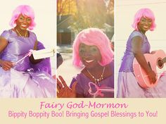 Happy Halloween From Your Fairy God-Mormons! ~ Sistas in Zion