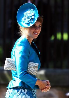 Princess Beatrice, Princess Eugenie Look Lovely For Easter At Windsor Castle (PHOTOS)