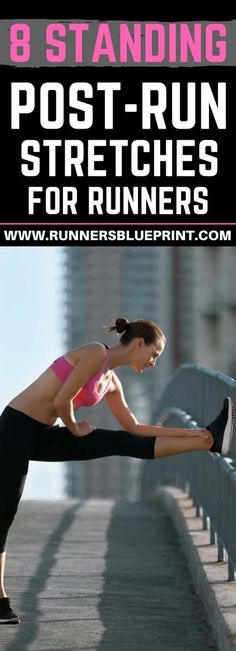 Stretching your muscles after a run can help you counteract the high impact effects of running, as well as help you release much of the tension and tightness resulting from hitting the pavement. http://www.runnersblueprint.com/the-8-standing-post-run-stretches-runners/ #Stretches #Running