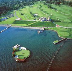 Coeur d'Alene Resort Golf Course | Idaho http://www.centroreservas.com/
