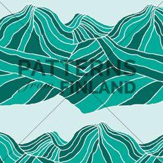 Landscape – Field by Ilana Vähätupa   #patternsfromagency #patternsfromfinland #pattern #patterndesign #surfacedesign #printdesign #ilanavahatupa